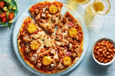 The Big Breakfast Pizza
