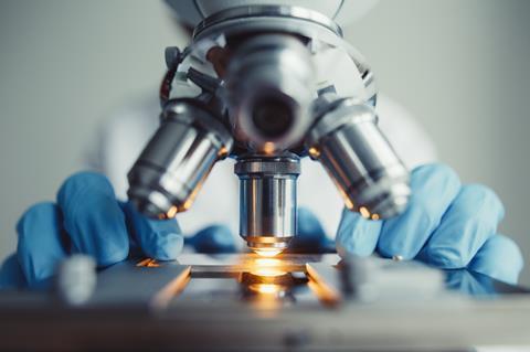 microscope laboratory testing