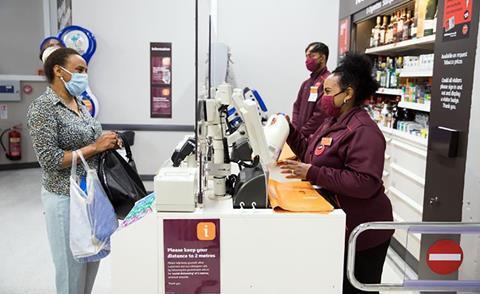sainsburys coronavirus customer staff masks