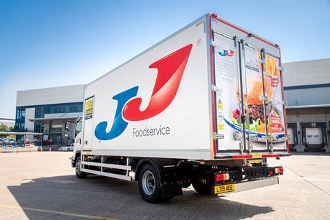 JJ foodservice new truck