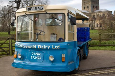Cotteswold Dairy milk float