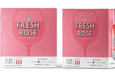 Fresh Rose Bag in Box Wine 2.25ltr