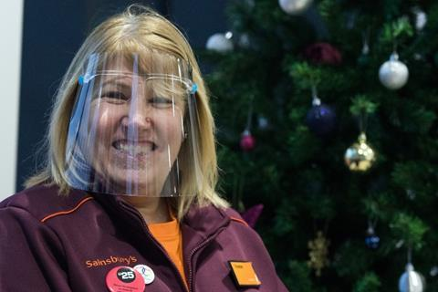 Christmas recruitment website image