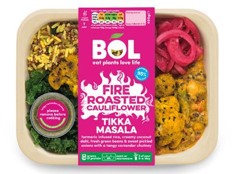 Bol Launches Vegan Dinner Range In Bio Plastic Box News