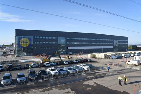 Lidl To Open Biggest Uk Warehouse In Scotland This Year