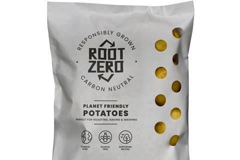 Root Zero - product shot front - Planet Friendly Potatoes