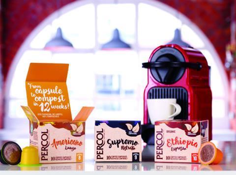 Percol Coffee Launches Trio Of Compostable Nespresso