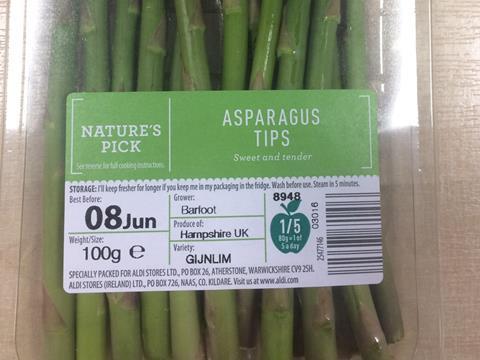Aldi drops black plastic for six of its fruit & veg ranges | News