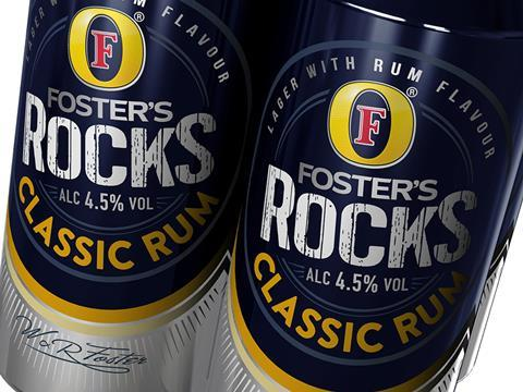 Foster S Rocks Up To Spirit Beers Category With Rum Speer News The Grocer