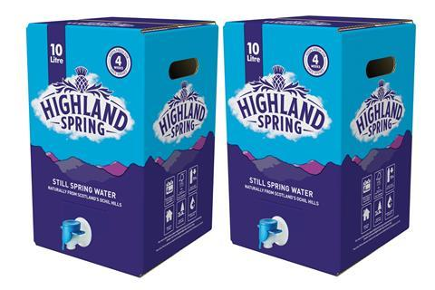 Highland Spring 10L duo