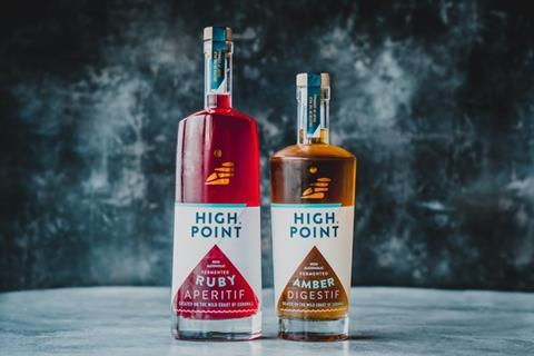 High Point Drinks duo