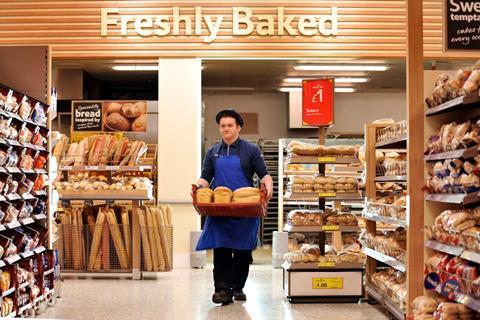 tesco bakery aisle staff