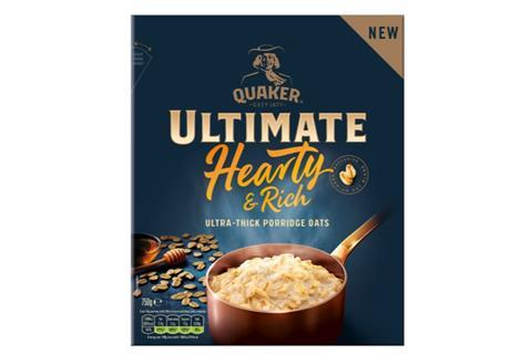 Quaker Ultimate Hearty & Rich Oats