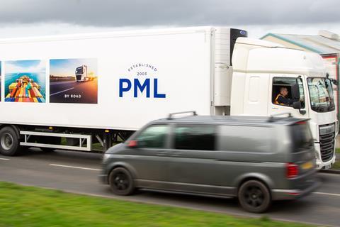 PML lorry