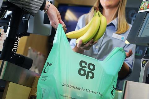 Co-op Compostable Carrier Bag.018