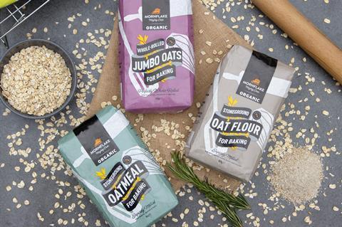 Mornflake oat baking range