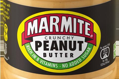 Marmite unveils 'ground-breaking' first peanut butter blend