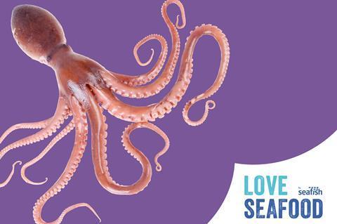 Love Seafood Octopus
