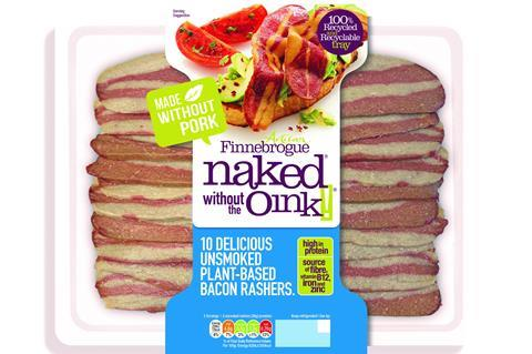 Plant based Naked bacon