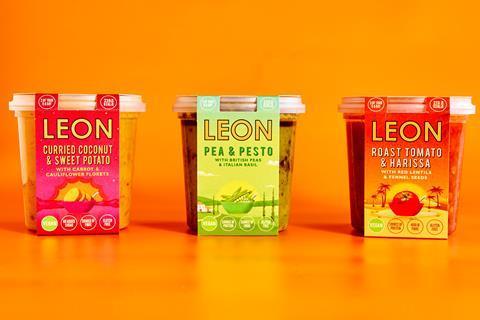 Leon soups and salads