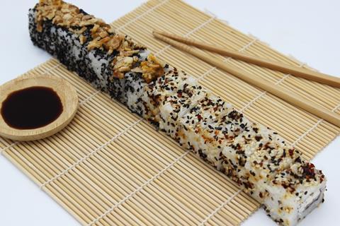 Aldi foot long sushi roll