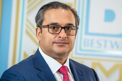 Dawood Pervez, Managing Director at Bestway Wholesale 2020 2