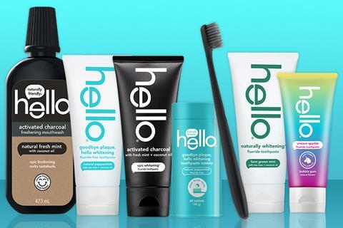 Hello oral care product range