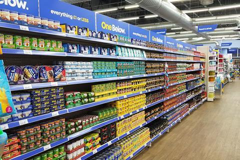 one below canned aisle