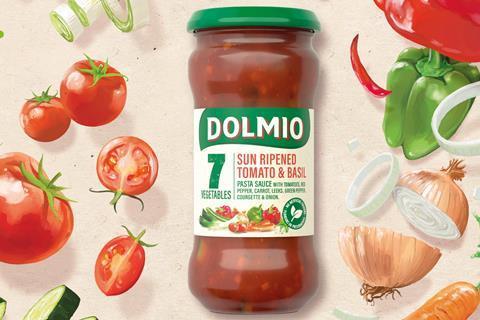 Dolmio & Veg Creative- Key Visual