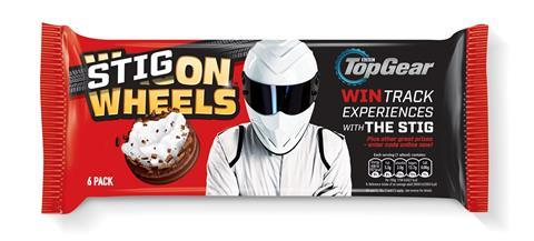 Stig on Wheels