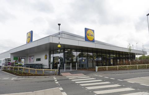 Lidl newest Scottish store - Paisley