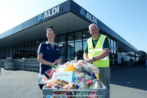 Aldi summer food donations