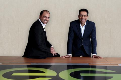 FT - Zuber (left) & Mohsin Issa EG Group co-CEOs and founders