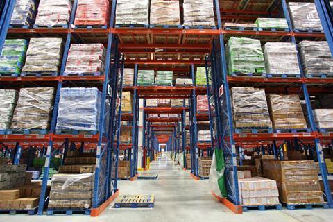 tesco china warehouse distribution centre