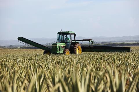 tractor crops field farming