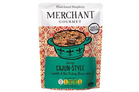 Merchant Gourmet Spicy Cajun Style Lentils and Kidney Beans_web