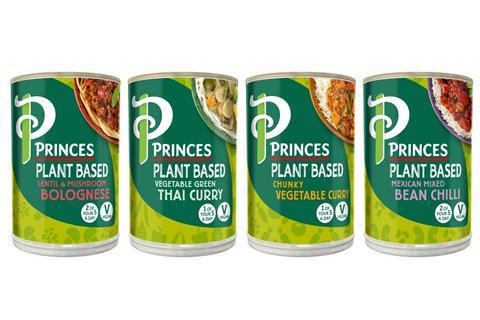 Princes plant-based ready meals