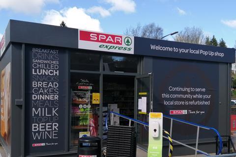 SPAR Haworth pop up shop2