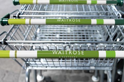 waitrose and partners trolleys