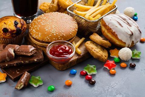 burger cake sweets junk food obesity