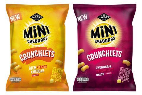 Jacob's Mini Cheddars Crunchlets