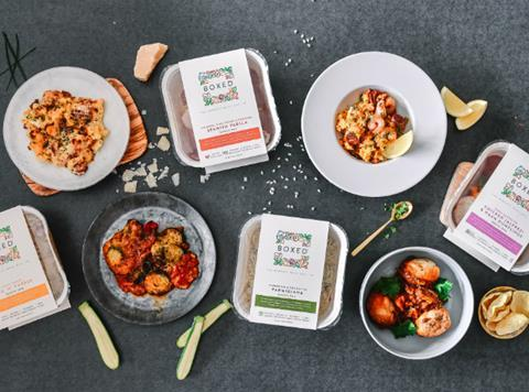 Boxed Switches Frozen Ready Meals Range To Single Serving