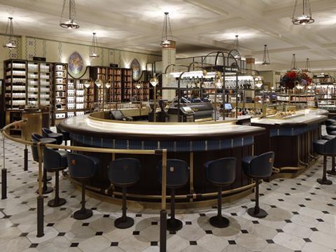 Inside Harrods Roast Bake Food Hall Analysis Features