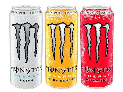 Monster Energy Goes Ultra With New Zero Sugar Lines News The Grocer