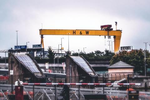 Belfast crane Northern Ireland