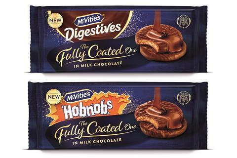 McVities fully coated