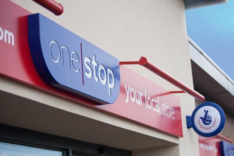 One Stop exterior