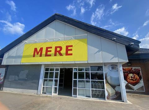 Mere store front