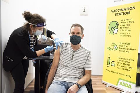 asda coronavirus vaccination