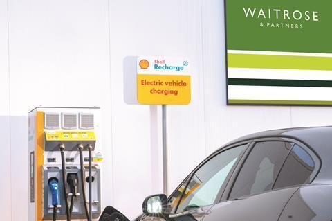 Waitrose EV Charging Media Visual